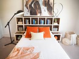 How To Make Headboard How To Make A Headboard With Storage Hgtv