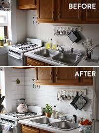 vinyl kitchen backsplash how to install a fake backsplash in your kitchen kitchen