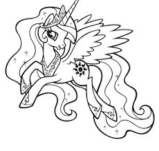 pony coloring pictures kidscolouringpages orgprint u0026 download my little pony coloring