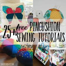 Armchair Pincushion 25 Free Pincushion Sewing Tutorials Swoodson Says