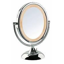 Dual Illuminated Vanity Mirrors Vanity Mirrors