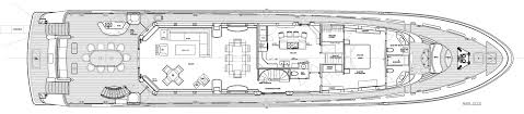 Deck Floor Plan by Westport 130 Tri Deck Motor Yacht Wp130 40m