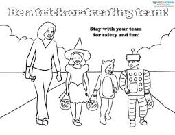 halloween safety handouts