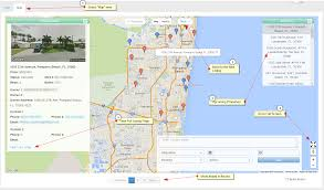 Map Of Pompano Beach Florida by Using The Map View Plus