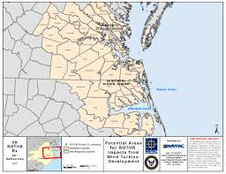 Virginia On Map by Va Rothr Wind Farm Compatibility At Nsa Northwest Annex