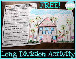 Free House Projects Teaching With A Mountain View Teaching Long Division