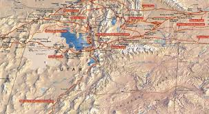Map Of Utah And Nevada by California National Historic Trail The Sights And Sites Of America