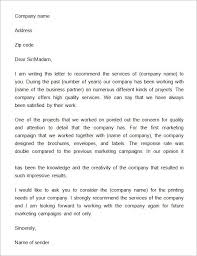 business letter of recommendation template best business template