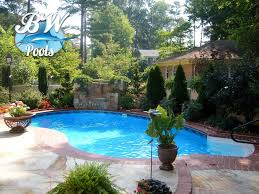 beautiful small round inground swimming pool designs with image