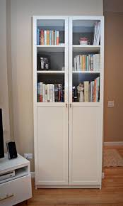 White Billy Bookcase by Ikea Bookcase With Doors 89 Unique Decoration And Billy Morliden