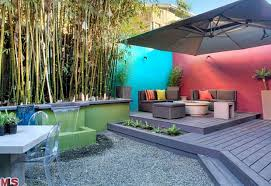 Enclosed Backyard Delightful Spanish In Silver Lake Angeleno Living