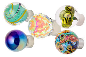 Sea Glass Door Knobs by Out Of The Blue Design Studio Art Glass Decorative Hardware