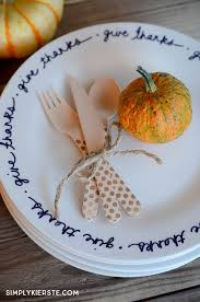 diy thanksgiving plates simplykierste