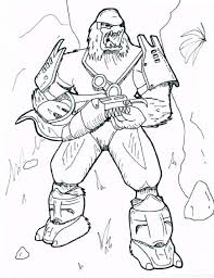 halo hero coloring page free coloring pages online