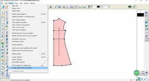 pattern and grading software apparel cad v9 whole demo video of richpeace garment software