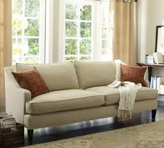 living room furniture ta landon upholstered sofa pottery barn a loveseat size in beige or