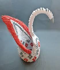 3d origami swan creative pinterest origami swan 3d origami