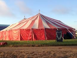 circus tent rental vintage big top flynn creek circus