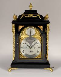How To Transport A Grandfather Clock Thomas Hunter A Good George Iii Period Brass Dial Ebonised Table