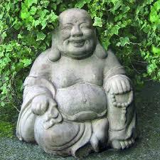sitting buddha garden statue