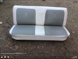 Upholstery Parts Bench S10 Bench Seat Bench Seat Ford Pickups Bench Chevy And S