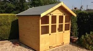 Garden Shed Summer House - mega sheds north wales garden sheds concrete garages 01745 591485