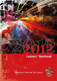 leavers yearbook leavers yearbook 2012 front page