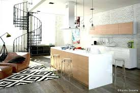 cuisines ouvertes sur salon idee deco cuisine ouverte idee deco cuisine ouverte ilot central