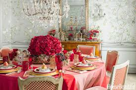 Dining Room Table Decorating Ideas 12 Valentine U0027s Day Table Decorations Romantic Tablescape Ideas