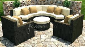 Curved Patio Sofa Curved Outdoor Sofa 8libre Regarding 3