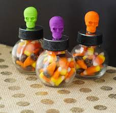 Halloween Party Favors Diy Halloween Candy Jar Party Favors Clever Pink Pirate