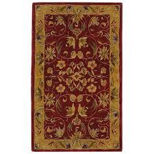 Safavieh Anatolia Collection Safavieh Anatolia Burgundy Gold Area Rug U0026 Reviews Wayfair