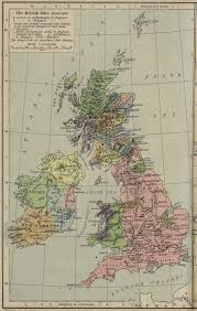 Map Of The British Isles Map Of The British Isles In 1300