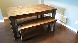 Bench Dining Room Table Pine Dining Table Set Pine Dining Room Set Dining Room Setspine