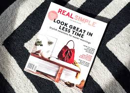 Real Simple Magazine by Babenotes U2013 Real Simple Magazine U2013 Bloggin U0027