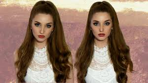 ariana grande hair tutorial no extensions youtube