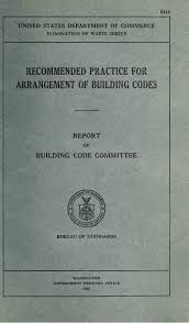 hoover u0027s building code committee report 1925