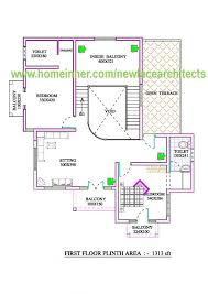 Elevation Floor Plan Floor Plan And Elevation Of 2700 Sqft Indian Home Floor Plan