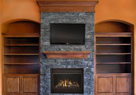 fireplace fireplace stone wall with wod fireplace mantel and wood
