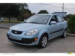 2009 polar blue kia rio lx sedan 22202404 gtcarlot com car