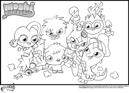 moshi monsters coloring pages minister gekimoe u2022 61069