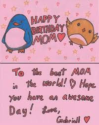 happy birthday mom card ideas pictures reference