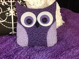diy decor ideas for purple lovers owl pillow owl and pillows