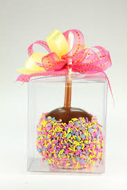caramel apple party favors daffy farms
