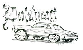 coloring pages of lowrider cars lowrider coloring pages coloring page lowrider art coloring pages