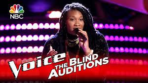 Blind Christian Female Singer The Voice 2016 Blind Audition Dana Harper