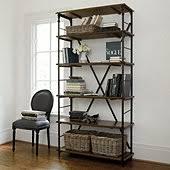 Steel Frame Bookcase Metal Frame Bookcase Ballard Designs