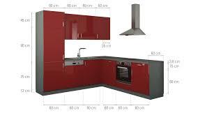 winkelküche mit elektrogeräten cubo15 winkelküche ohne elektrogeräte stuttgart rot anthrazit