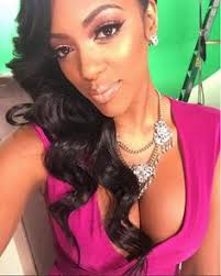 porche with real hair from atalanta housewives woah there porsha the real housewives of atlanta star is