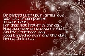 blessed family love christmas blessings